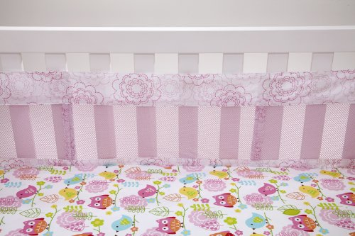 Nojo Love Birds Secure-Me Crib Liner