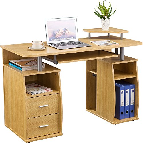 Genuine Piranha Tetra Computer Desk With Shelves Cupboard And Drawers For A Home Office Pc5o