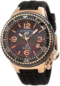 Swiss Legend 11844-BKBRA - Reloj de pulsera mujer, silicona, color negro