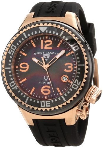 Swiss Legend Women's 11844-BKBRA Neptune Black
