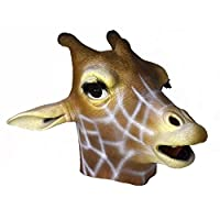 Latex Full Head GIRAFFE Mask