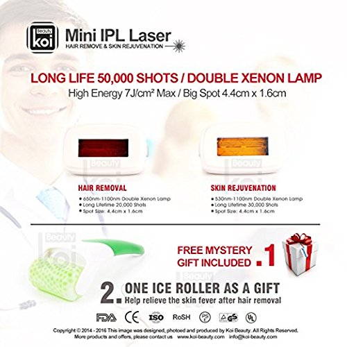 Koi Beauty® Ipl Lamp Replace Cartridge for IPL Laser System for Laser Hair Remove & Skin Rejuvenation,pack of 2