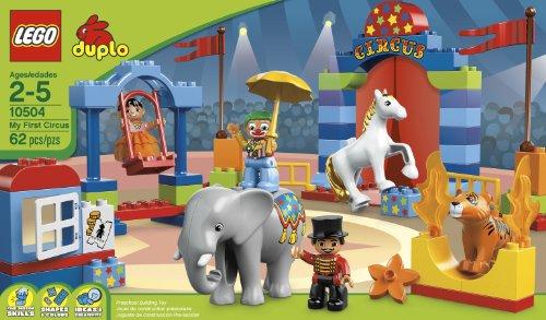 新补货:LEGO 乐高 DUPLO 得宝动物园系列 My First Circus 10504 大马戏团积木 $23.99+$8.93(直邮到手约¥210)有晒单图片