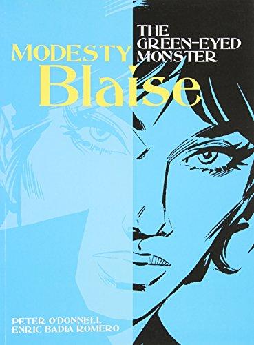 Modesty Blaise: Green-eyed Monster (Modesty Blaise (Graphic Novels))