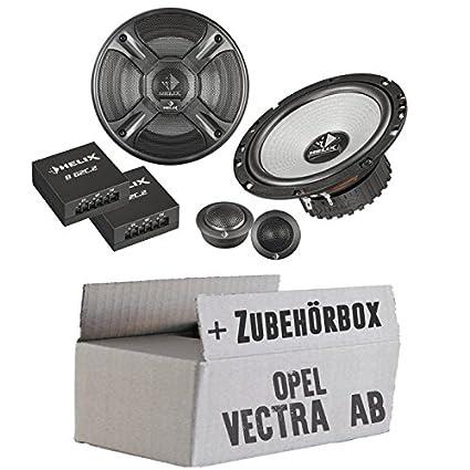 OPEL VECTRA A, B-Helix-B 62eia-568-c.2-16cm-Système de haut-parleur 2voies Kit de montage