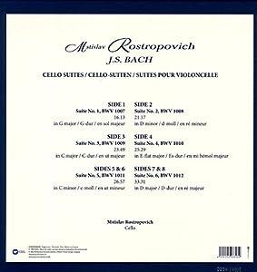 Bach: The Cello Suites (4LP)