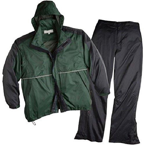shedrain-golf-sports-rain-suit-black-green-jacket-pants-x-large-unisex
