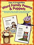 img - for Easy & Irresistible Word Family Poems & Puppets (Word Family (Scholastic)) by Hillstead Deborah Fields Marjori (2002-08-01) Paperback book / textbook / text book