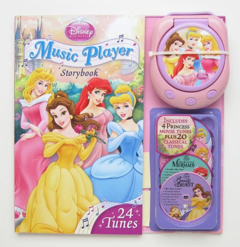 Music Player Storybook [With Music Player and 4 CDs] (Disney Princess (Reader's Digest))