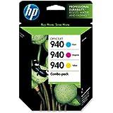HP Color Combo Pack Original Ink Cartridges (940)