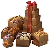 Broadway Basketeers Happy Birthday Gift Tower of Sweets ~ Broadway Basketeers