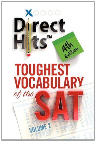 Direct Hits Toughest Vocabulary of the SAT 4th Edition by Direct Hits (2012-01-31) (Direct Hits Toughest Vocabulary compare prices)