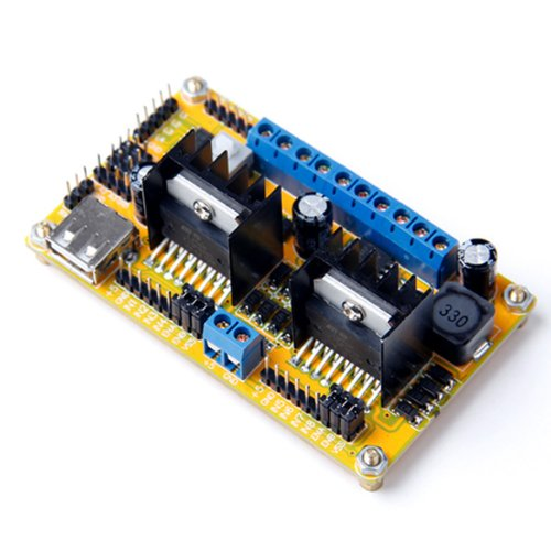 L298N 4 Channels Dc Motor Step Motor Driver Module Robot 4Wd Car For Arduino