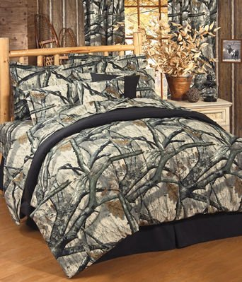 Mossy Oak Camo Treestand - Sheets Set - Queen