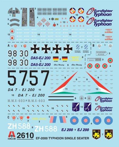Imagen principal de Italeri 2610S - Maqueta de EF-2000 Typhoon monoplaza