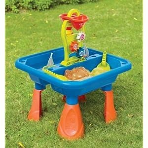 playgo 5450 sand und wassertisch spieltisch sandkasten ebay. Black Bedroom Furniture Sets. Home Design Ideas