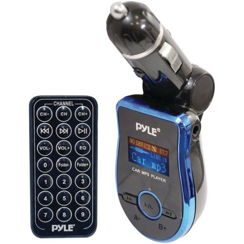 Pyle Pmp3b2 Mobile Sd/Usb/Mp3 Compatible Player with Built-in Fm Transmitter