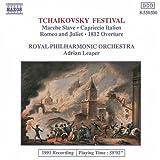 Tchaikovsky Festival: Marche Slave, Capriccio Italien, Romeo & Juliet, 1812 Overture
