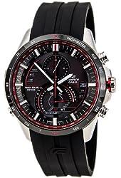 Casio Edifice Solar Chronograph Black Dial Stainless SteelEQS-A500B-1AVCR