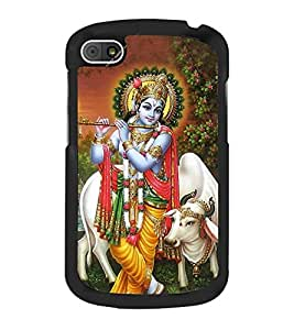Lord Krishna 2D Hard Polycarbonate Designer Back Case Cover for BlackBerry Q10