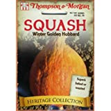 Thompson & Morgan 4860 Heirloom Squash Golden Hubbard Seed Packet