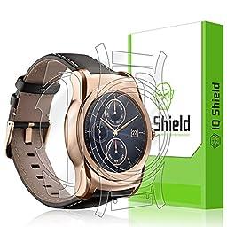 LG Watch Urbane Screen Protector, IQ Shield® LiQuidSkin Full Body Skin + Full Coverage Screen Protector for LG Watch Urbane HD Clear Anti-Bubble Film - with Lifetime Warranty