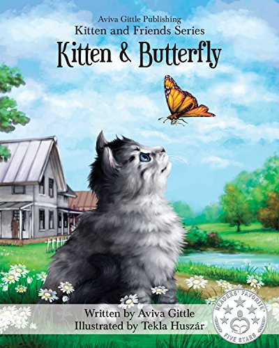 Kitten & Butterfly cover