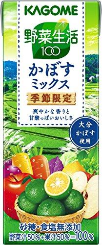 カゴメ 野菜生活100 かぼすミックス 200ml×24本