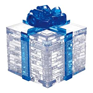 Blue Crystal Puzzle Gift Box