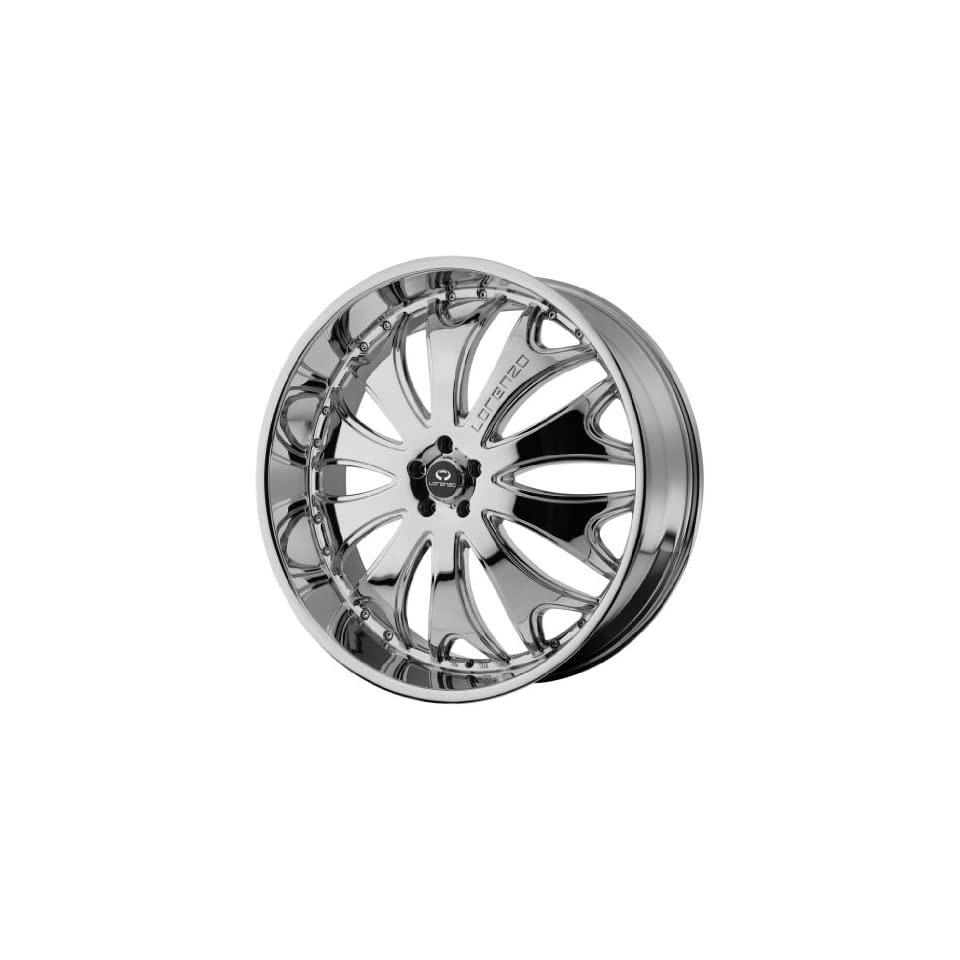 Lorenzo WL029 26x9.5 Chrome Wheel / Rim 6x5.5 with a 35mm Offset and a 100.50 Hub Bore. Partnumber WL02926962235 Automotive