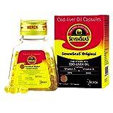 SevenSeaS®Original Cod Liver Capsules 100 Cap