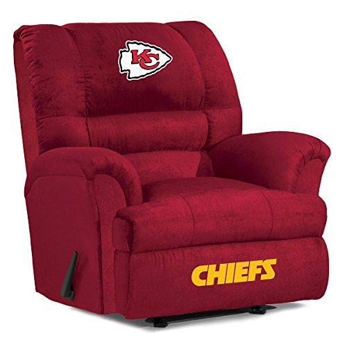 NFL Kansas City Chiefs Big Daddy Microfiber Recliner