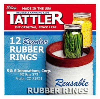 Reusable Replacement Canning Jar Ring