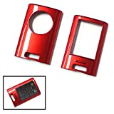 iJDMTOY (1) Exact Fit Gloss Metallic Red Smart Remote Key Fob Shell For Cadillac ATS CTS DTS XTS Escalade or Chevrolet C7 Corvette, etc