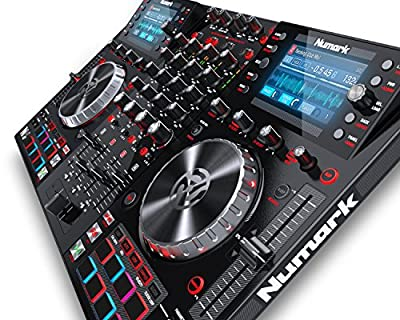 Numark NVII for Serato DJ with Intelligent Dual-Display Screens & Touch-Capacitive Knobs by inMusic Brands Inc.
