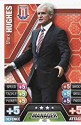 Match Attax 2013/2014 Mark Hughes Stoke City 13/14 Manager