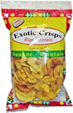 Exotic Plantain Crisps Salted 75 g (Pack of 10)