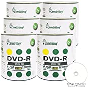 Smart Buy 600 Pack DVD-R 4.7gb 16x White Top Blank Data Video Movie Record Disc 600 Disc 600pk