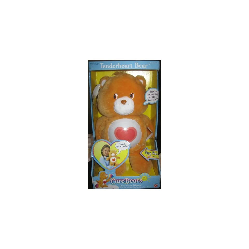 CARE BEARS   14 TALKING & LIGHT UP TENDERHEART BEAR (CARE