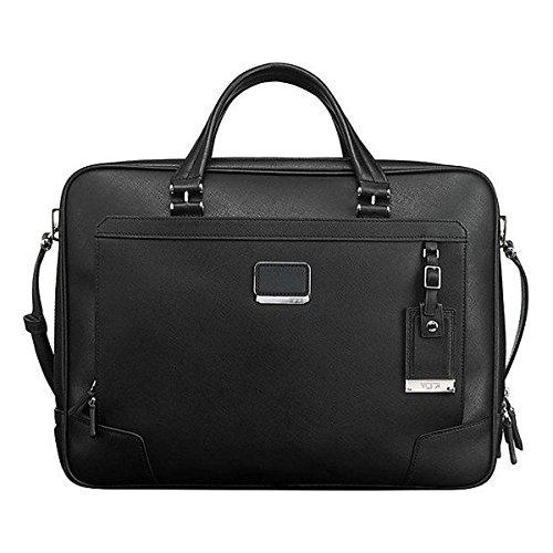 (トゥミ) Tumi メンズ パソコンバッグ 革製 Astor Ansonia Zip Top Leather Brief 並行輸入品