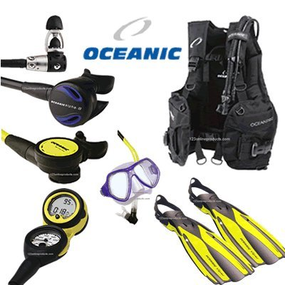 Oceanic Economy Oceanpro, Alpha 8 Scuba Gear Package sourcing is Oceanic
