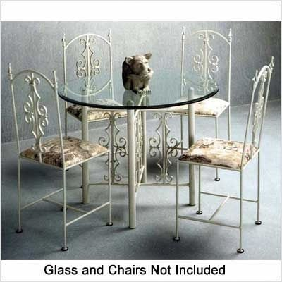 Gothic Large Dining Table Base Metal Finish: Antique Bronze