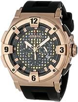 Orefici Unisex ORM14C4807 Evolution One of a Kind Bezel Crystal Watch