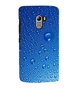 EPICCASE Water Droplets Mobile Back Case Cover For Lenovo Vibe K4 Note (Designer Case)