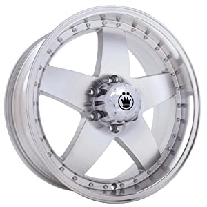 "Konig High Road Silver Wheel with Machined Face (20x8.5""/5x127mm)"