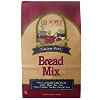 Namaste Foods, Gluten Free Bread Mix, 16-Ounce Bags (Pack of 6) by Namaste Foods