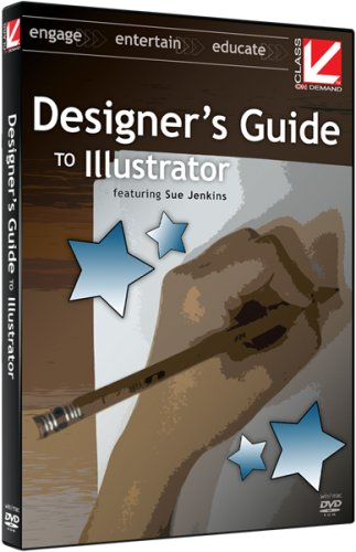 Class on Demand Designers Guide to Illustrator for CS3 and CS4 Educational Training Tutorial DVD-ROM hosted by Sue Jenkins 90940