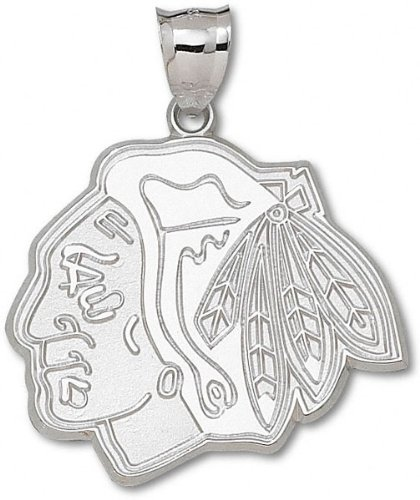 Chicago Blackhawks NHL Sterling Silver Charm