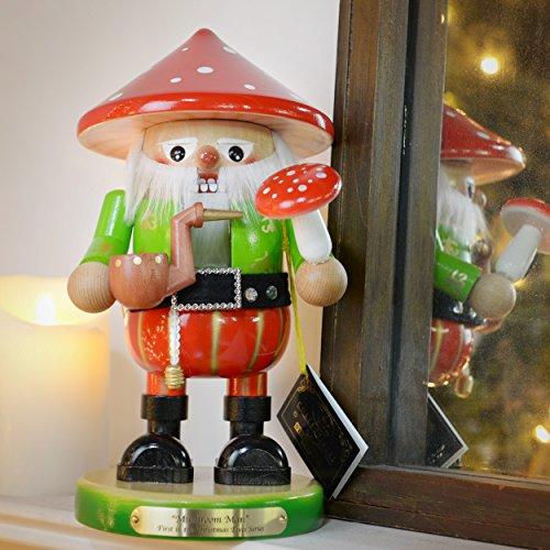 Kurt Adler 12.5″ Steinbach Mushroom Man Nutcracker
