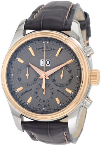 Armand Nicolet Men's 8648A-GR-P914GR2 M02 Classic Automatic Two-Toned Watch